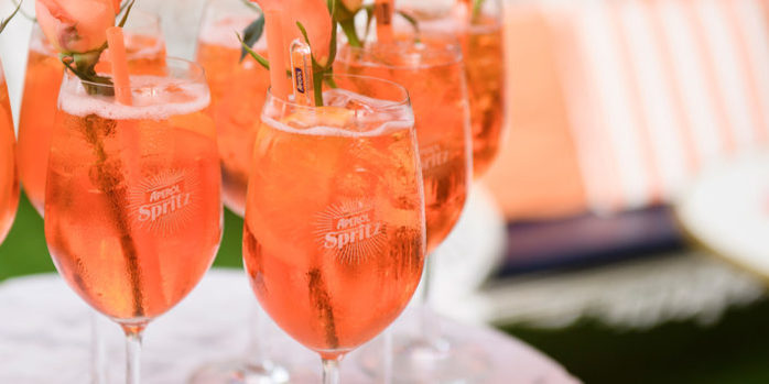 Brisbane Aperol Spritz Sunset Customs House